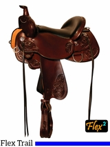 "14"" to 17"" Circle Y Clearwater Flex2 Trail Saddle 2379 w/Free Pad"