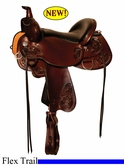 "** SALE **14"" to 17"" Circle Y Clearwater Flex2 Trail Saddle 2379 *free gift*"