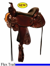 "14"" to 17"" Circle Y Clearwater Flex2 Trail Saddle 2379 *free gift*"
