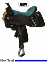 "14"" to 17"" Circle Y Limited Edition Trail Saddle CY16 w/ Free Pad"