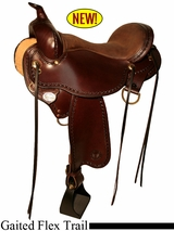 "14"" to 17"" Circle Y Missouri Flex2 Gaited Trail Saddle 1589"