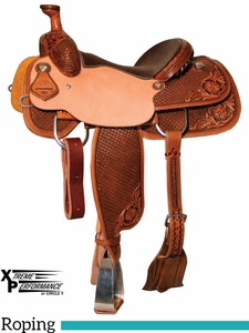 "** SALE ** 14"" to 17"" Circle Y XP Buckeye Roper Saddle 2775 w/Free Pad"