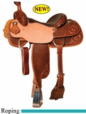 "** SALE **14"" to 17"" Circle Y XP Buckeye Roper Saddle 2775 *free gift*"