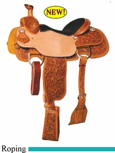 "14"" to 17"" Circle Y XP Monroe Roper Saddle 2774 *free gift*"