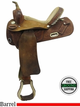 "14"" Used Circle Y Medium Barrel Saddle 2287 uscy3079 *Free Shipping*"