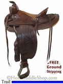 "PRICE REDUCED! 14"" Used JC Higgins Trail Saddle usjc2630 *Free Shipping*"