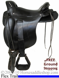 "NO LONGER AVAILABLE PRICE REDUCED! 14"" Used Ortho Flex Endurance Saddle usof2102 *Free Shipping*"