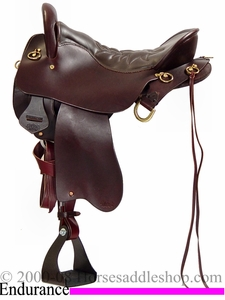"** SALE **15.5"" to 18.5"" Tucker Endurance Trail Saddle 159 *free gift*"