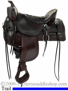 "15.5"" to 18.5"" Tucker Saddles Old West Trail Saddle 277 *free gift*"