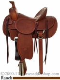 "15 1/2"" 16"" 17"" Billy Cook High Country Rancher Saddle FQHB 2175"