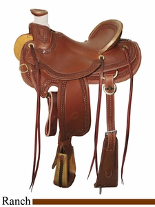 "** SALE **15"" to 17"" Circle Y Elko Ranch Saddle 1343 *free gift*"