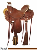 "15"" to 17"" Circle Y Elko Ranch Saddle 1343 *free pad or cash discount*"