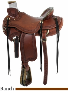 "** SALE ** 15"" to 17"" Circle Y Elko Ranch Saddle 1343 w/Free Pad"