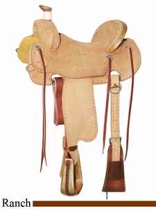 "15"" to 17"" Circle Y XP Colt Starter Ranch Saddle 1115"