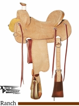 "15"" to 17"" Circle Y XP Colt Starter Ranch Saddle 1115 w/Free Pad"