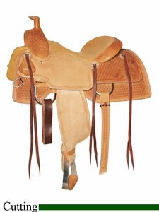 "** SALE **15"" to 17"" Circle Y Xtreme Performance Cowhorse Cutting Saddle 1390 *free gift*"