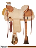 "15"" to 17"" Circle Y Xtreme Performance Tuscon Ranch Saddle 1113 *free pad or cash discount*"