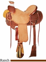 "15"" to 17"" Reinsman Wade Ranch Saddle 4602"