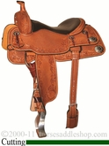 "** SALE **15"" 15.5"" 16"" 16.5"" 17"" Silver Mesa Traditions Cowhorse Saddle SM2000 *FREE SADDLE PAD OR CASH DISCOUNT!*"