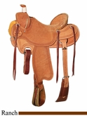 "** SALE **15"" to 17"" Circle Y XP Barnhart Ranch Saddle 1116 *free gift*"