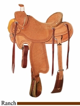 "** SALE ** 15"" to 17"" Circle Y XP Barnhart Ranch Saddle 1116 w/Free Pad"