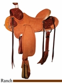 "** SALE **15"" to 17"" Circle Y XP Wheelock Ranch Saddle 1117 *free gift*"