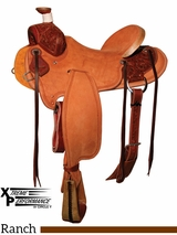 "15"" to 17"" Circle Y XP Wheelock Ranch Saddle 1117 w/Free Pad"