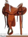 "15"" 15.5"" 16"" 17"" Billy Cook Wade Tree Saddle #10-2181"