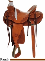 "** SALE ** 15"" to 17"" Billy Cook Wade Tree Saddle 2181"