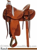 "15"" to 17"" Billy Cook Wade Tree Saddle #10-2181"