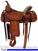 "15"" 15.5"" 16"" 17"" New Genuine Billy Cook Trail Saddle 10-1777"