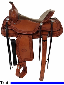 "** SALE ** 15"" to 17"" Billy Cook Trail Saddle 1777"