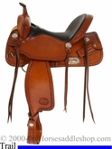 "15"" 15.5"" 16"" 17"" CJ Trail Saddle by Billy Cook 10-1537"