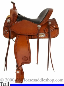 15inch 16inch 17inch CJ Trail Saddle by Billy Cook