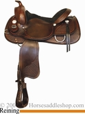 "15"" 15.5"" 16"" 17"" Crates Basic Reining Saddle 260 Reg and Wide"