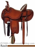 "15"", 15.5"", 16"" or 17"" - High Country Rancher  Billy Cook Saddle 10-2174"