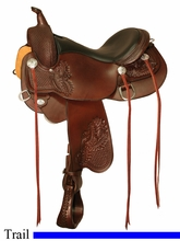 "** SALE **15"" to 18"" Circle Y Calico Trail Saddle 2602 *free gift*"