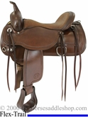 "** SALE **15"" to 18"" Circle Y Topeka Flex2 Trail Saddle 1651 *free gift*"