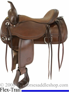 "15"" to 18"" Circle Y Topeka Flex2 Trail Saddle 1651"