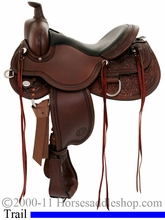 "15"" to 18"" Circle Y Kenny Harlow High Rock Trail Saddle 5622 *free pad or cash discount*"