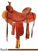 "15"" to 18"" Circle Y Outfitter Ranch Saddle 1125 *free pad or cash discount*"