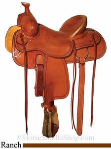 "15"" to 18"" Circle Y Outfitter Ranch Saddle 1125 *free gift*"