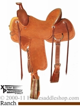 "15"" to 18"" Circle Y XP Baxter Ranch Saddle 1119 w/Free Pad"