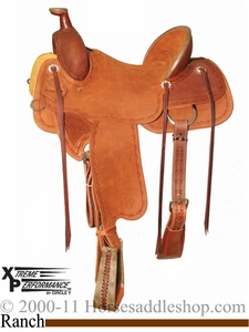 "15"" to 18"" Circle Y XP Baxter Ranch Saddle 1119"