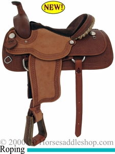 15inch 16inch Alamo Roughout Bowman Roper Saddle