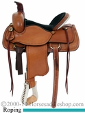 "15"" 16"" 17"" American Saddlery Hoss High Roper Saddle am1635"