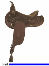 "15"" 16"" 17"" American Saddlery Sof-Tee Riders Saddle am507-607"