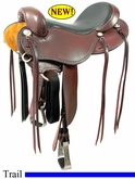 "** SALE **15"" 16"" 17"" Cashel No Horn Trail Saddle, Reg or Wide Tree"