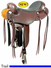 "15"" to 17"" Cashel No Horn Trail Saddle, Reg or Wide Tree"