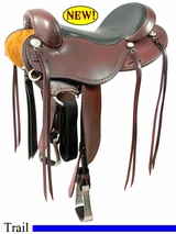 "** SALE **15"" to 17"" Cashel No Horn Trail Saddle, Reg or Wide Tree"